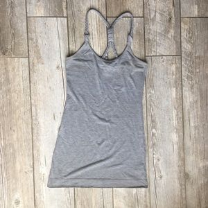 Urban Outfitters Braided Staps Cami Grey S